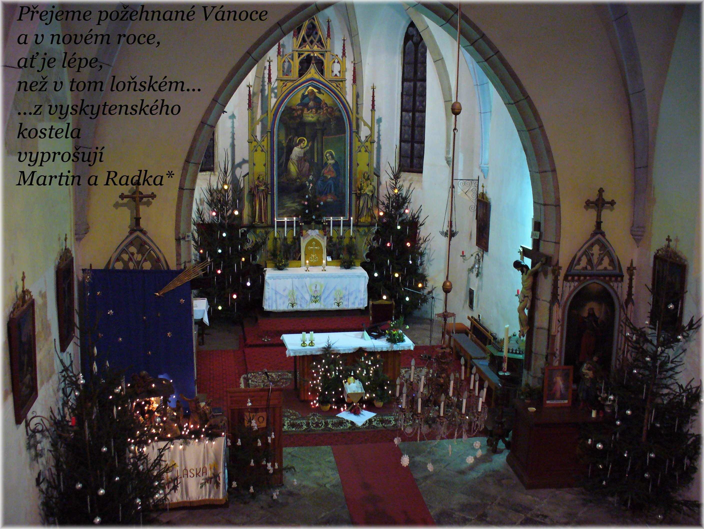 Vánoční pozdrav z Vyskytné
