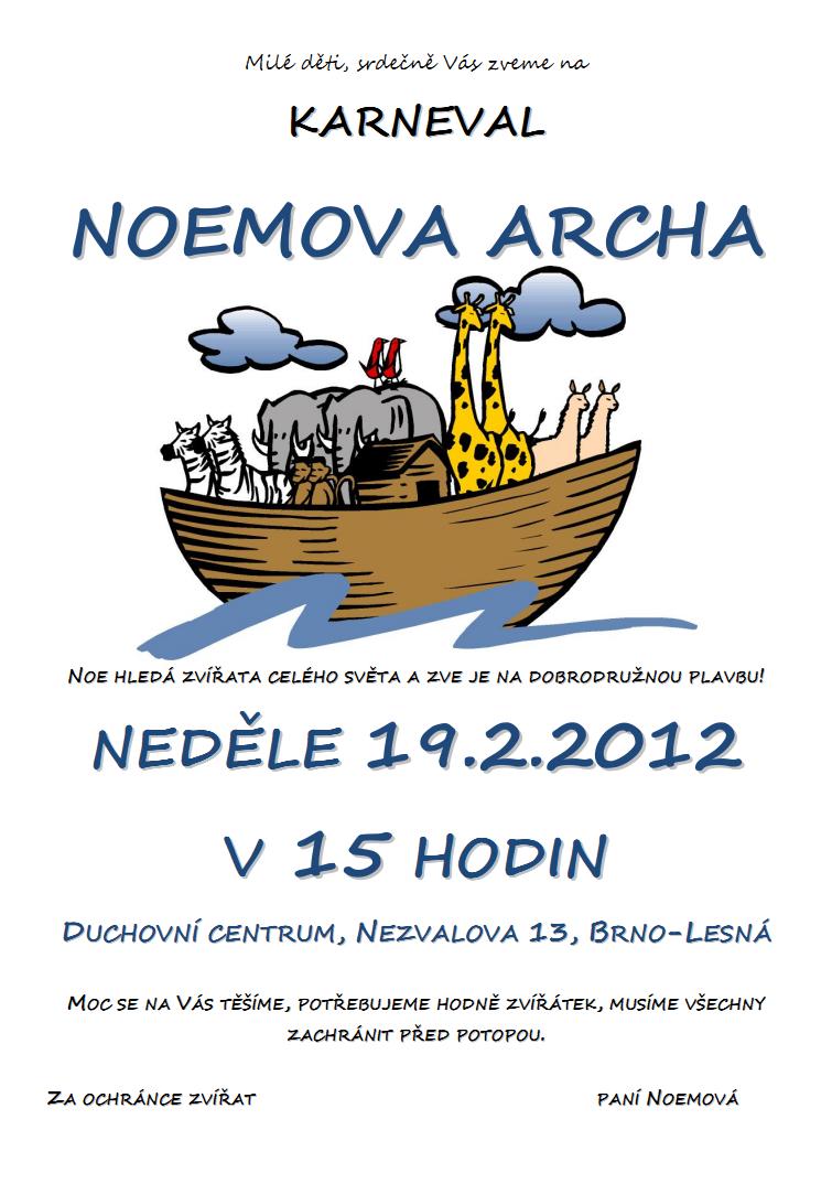 Karneval Noemova Archa v Brně