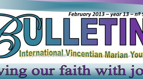 """Mezinárodní bulletin (Únor 2013) - """"Žime našu vieru s radosťou!"""""""