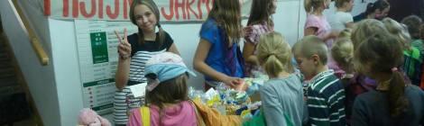 Misijní bazárek na církvní škole na Lerchové v Brně