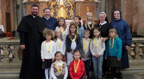 """Vstup do Andělského spolku – """"1. stupně"""" zasvěcení se Panně Marii v SMM"""