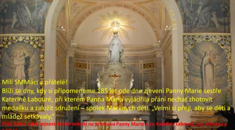 185 let od zjevení Panny Marie