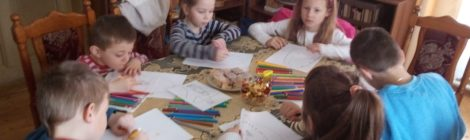Nová skupinka dětí Mariánské družiny v Horní Cerekvi